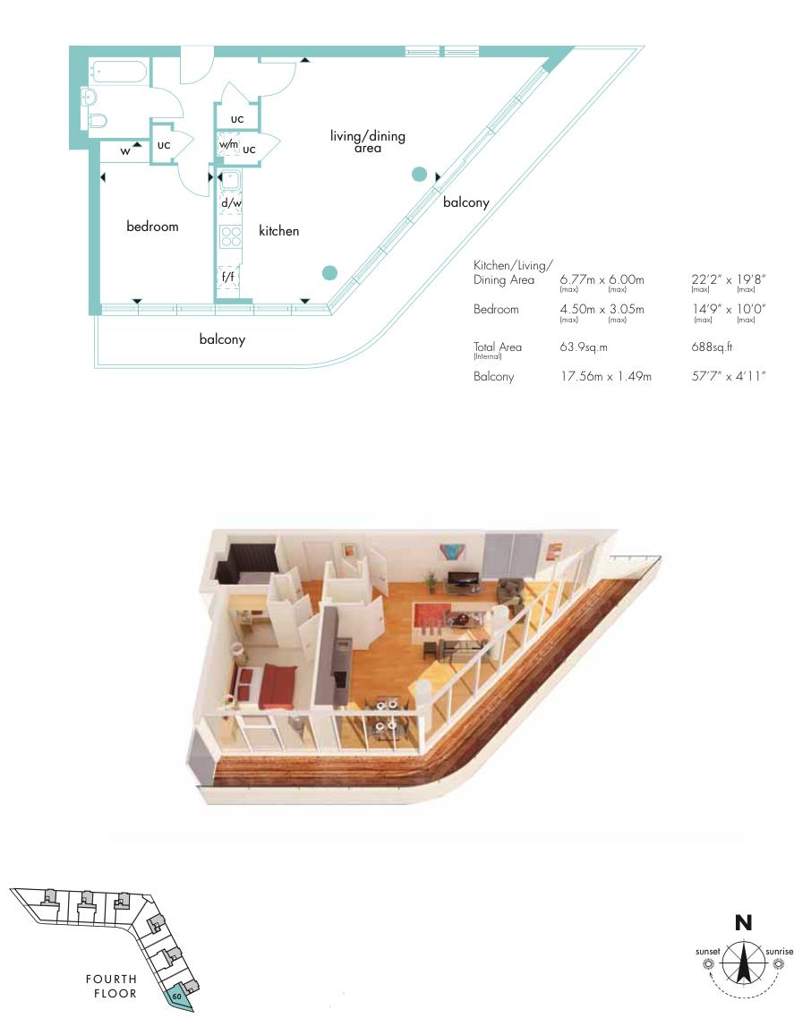 Floor plan the online letting agents ltd for Floor layout online