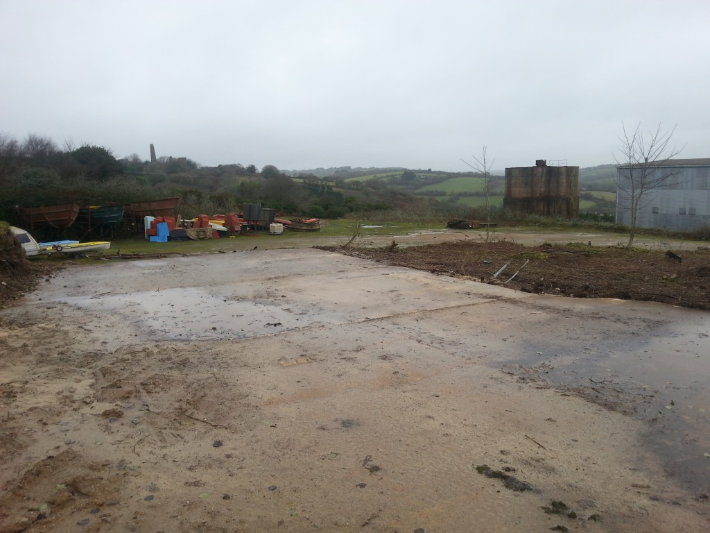 Two 1 Acre Storage Yards To Rent Near A30 In Cornwall