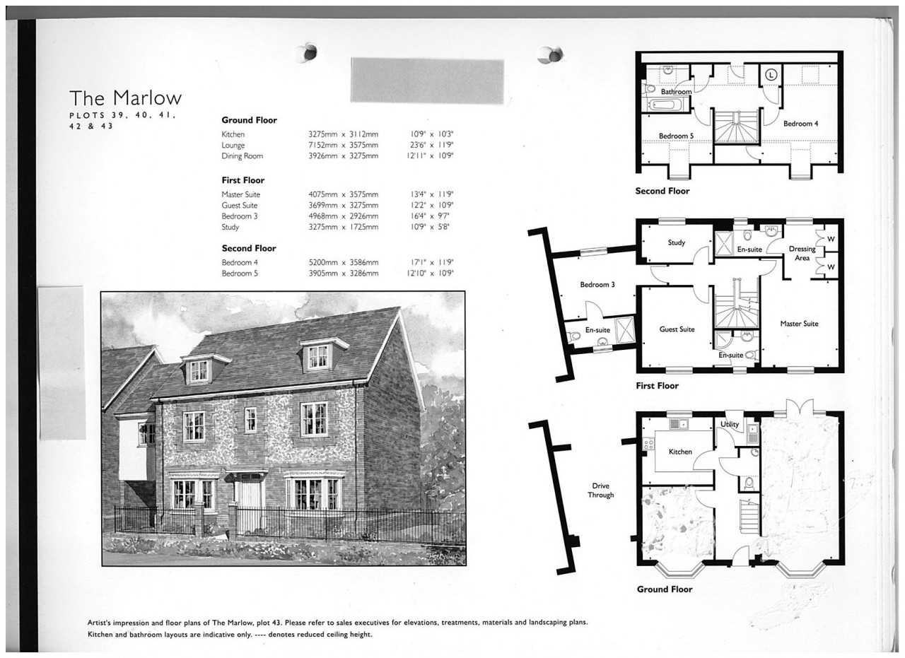 Five Bed Detached Charles Church House In Westcroft