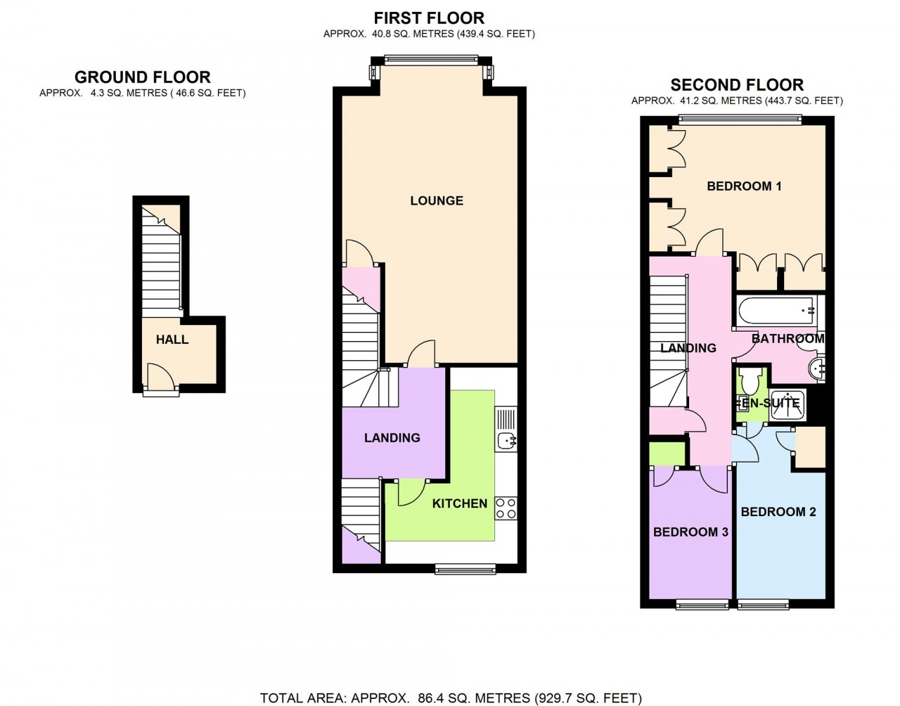 Floor plan the online letting agents ltd for Floor plans for estate agents