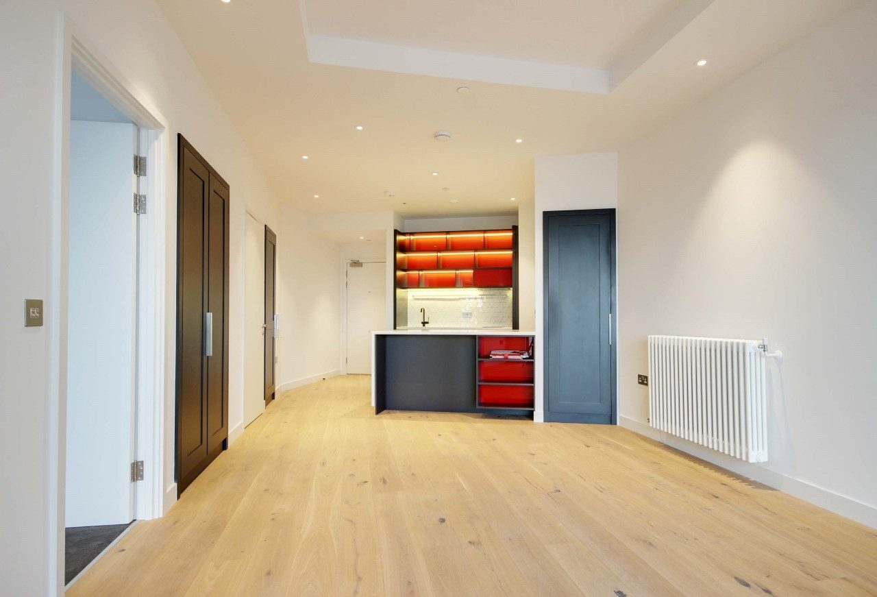 9th Floor Apartment To Let With Views Over London E14
